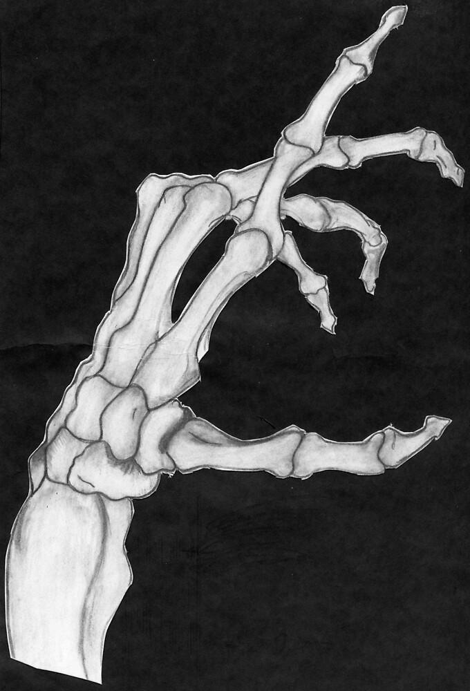 Skeleton Hand by NAdjaRani88