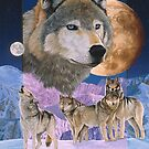 Blauer Mond von Graeme  Stevenson