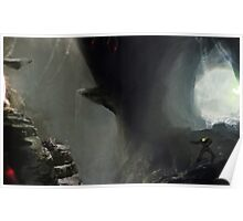 Zebes Cave Poster
