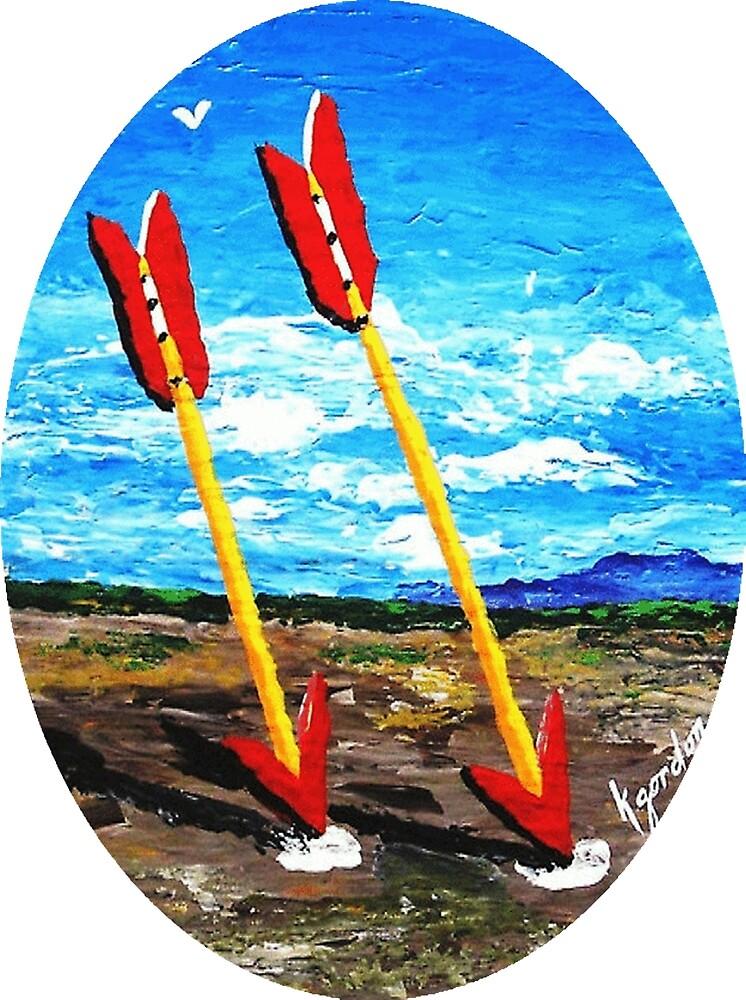 Twin Arrows, Arizona Route 66 by WhiteDove Studio kj gordon
