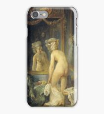 Jean Frederic Schall - Morning Toilet iPhone Case/Skin
