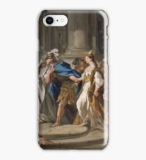 Jean Francois De Troy - Jason And Medea In The Temple Of Jupiter iPhone Case/Skin