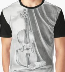 Violin-2 Graphic T-Shirt