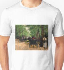 Jean Beraud - Bois De Boulogne Unisex T-Shirt