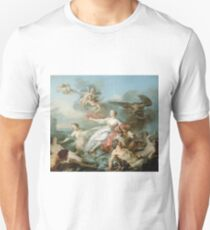 Jean Baptiste Marie Pierre - The Abduction Of Europa Unisex T-Shirt