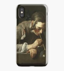 Jean - Simeon Chardin - Soap Bubbles iPhone Case/Skin
