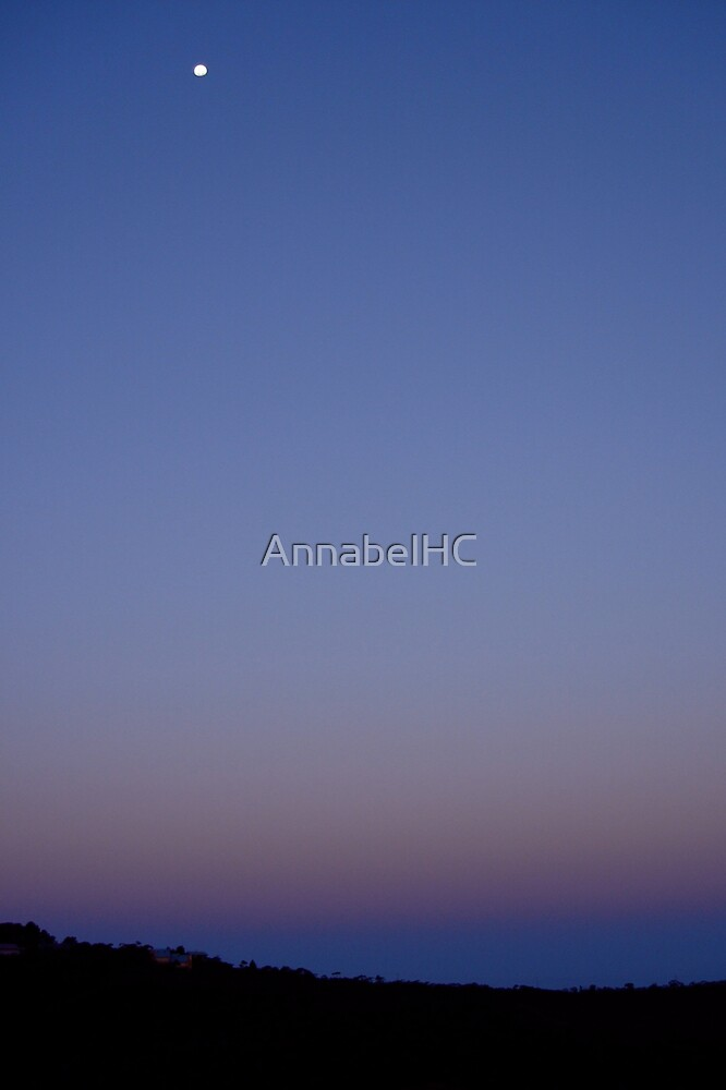 The Moon and I by AnnabelHC