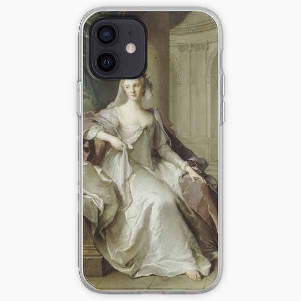 Jean - Marc Nattier - Madame Henriette De France As A Vestal Virgin iPhone Soft Case