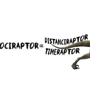 Velociraptor/Velocity by fandomwithlove