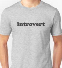 Camiseta unisex introvertido
