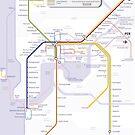 Perth Train Map by Railmaps