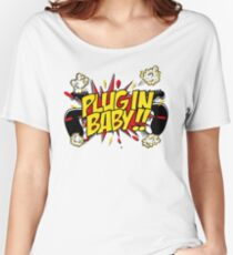 Plug In Baby Women's Relaxed Fit T-Shirt