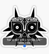 Legend of Zelda - Majora's Mask: Terrible Fate Sticker
