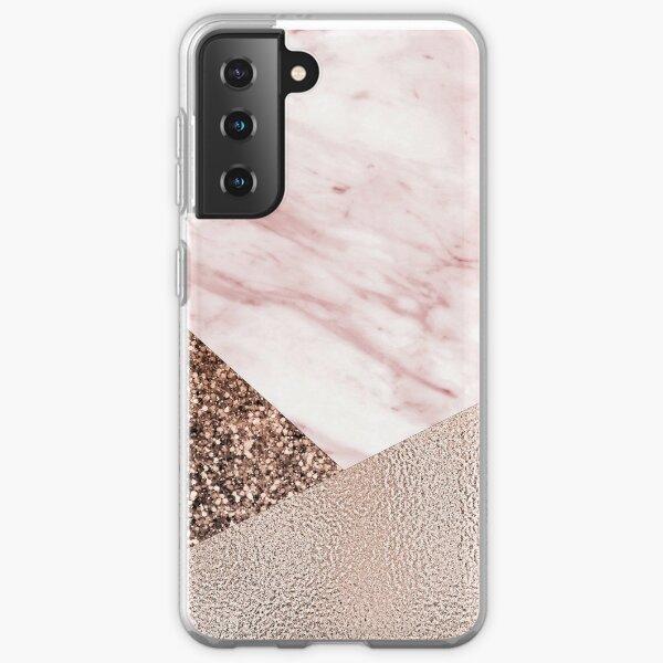 Cotton candy dreams - rose gold Samsung Galaxy Soft Case