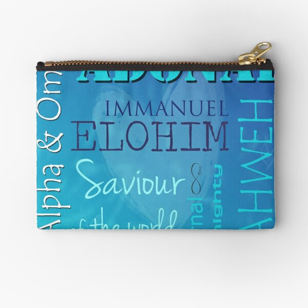 The Alpha and The Omega Zipper Pouch