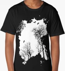 In the Forest - white option Long T-Shirt