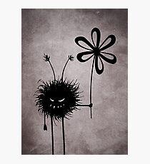 Evil Flower Bug Vintage Photographic Print