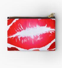 Kiss X Kiss X Kiss X Lips Studio Pouch