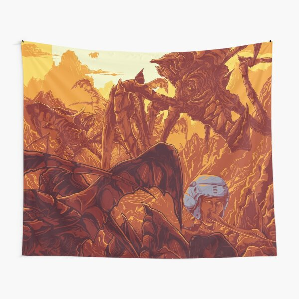 Starship Poopers Tapestry