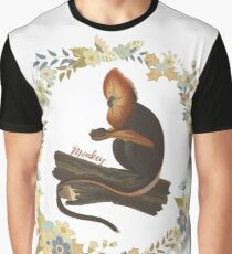 Special Monkey Graphic T-Shirt