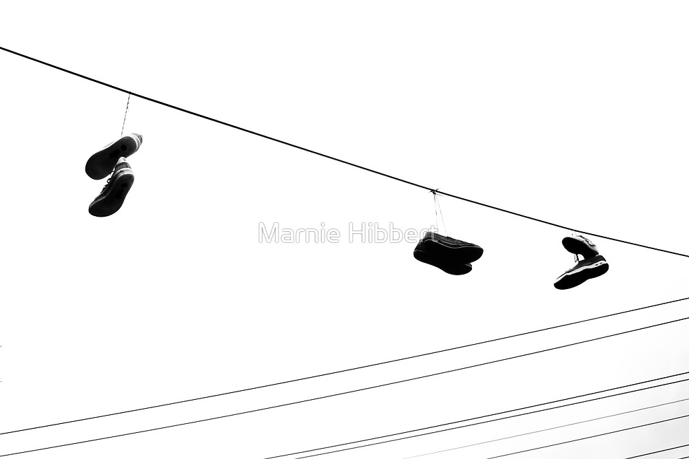 Shoe Hanger by Marnie Hibbert