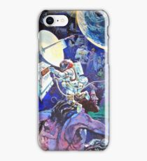 Spaceship Earth Mural iPhone Case/Skin