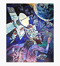 Spaceship Earth Mural Photographic Print