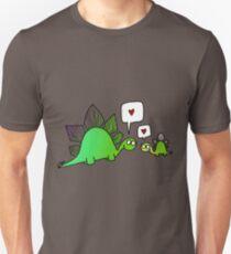 stegosaurs love their babies Unisex T-Shirt
