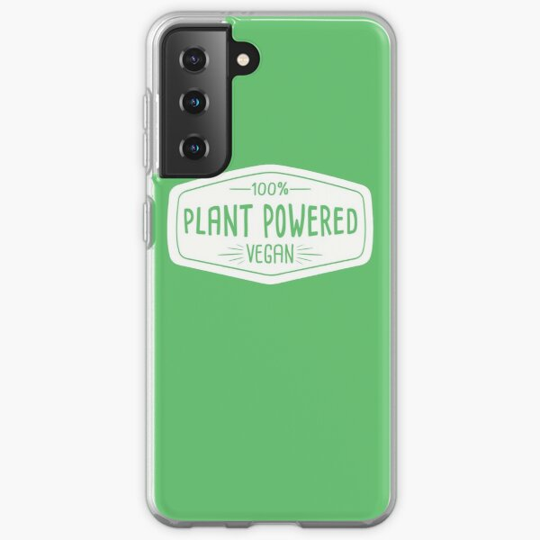 100% Plant Powered Vegan Samsung Galaxy Soft Case