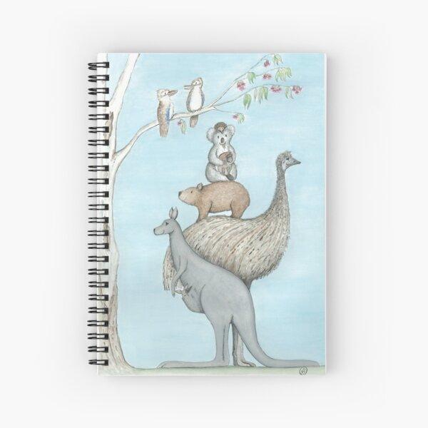 Australian Native Animal Stack Spiral Notebook