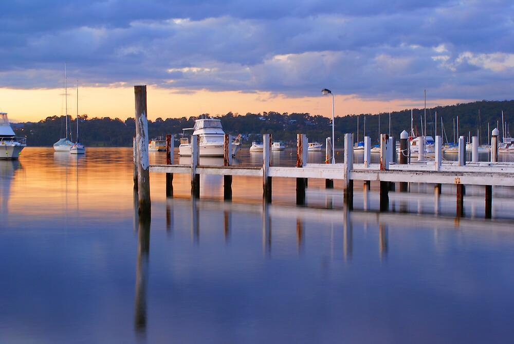 Lake Macquarie sunset #1 by brooko72