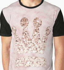 Rose gold - crown Graphic T-Shirt