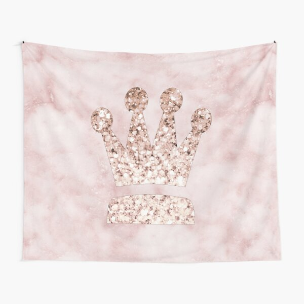 Rose gold - crown Tapestry
