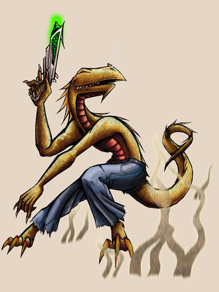 Space lizard by saintpepsi