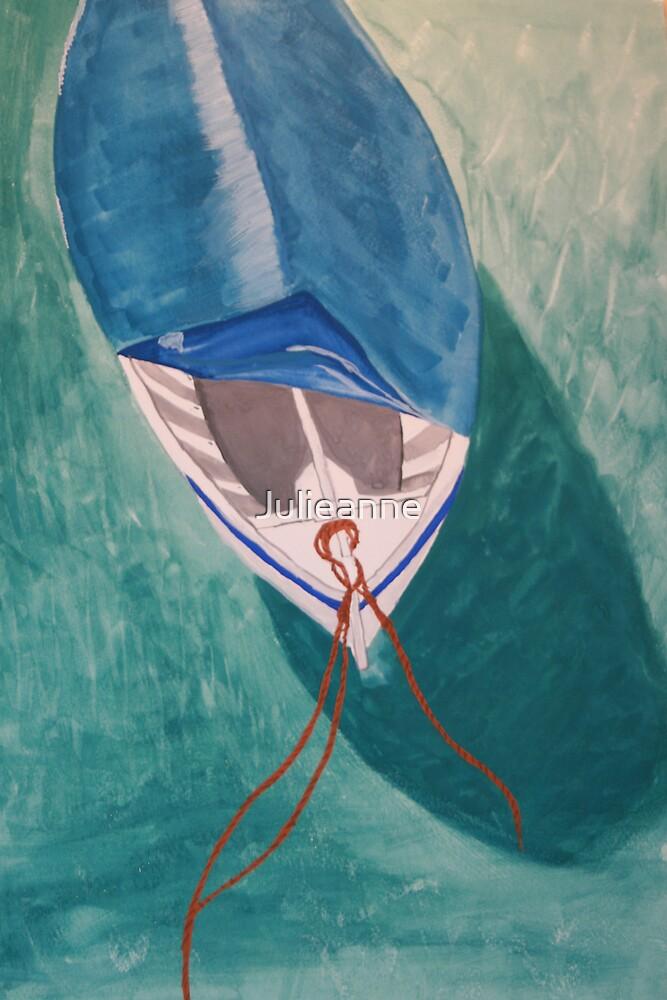 Water by watercolor by Julieanne
