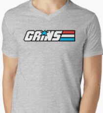 Gains Joe Men's V-Neck T-Shirt