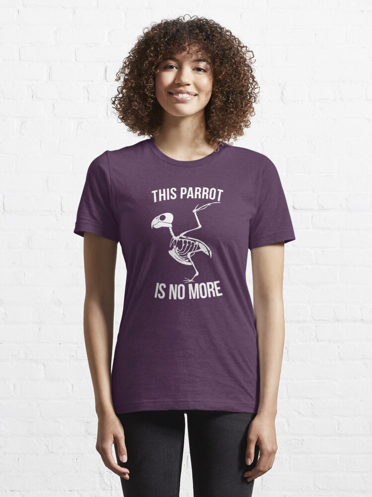 Alternate view of This Parrot Is No More Essential T-Shirt