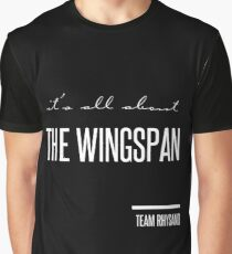 it's all about the wingspan Graphic T-Shirt