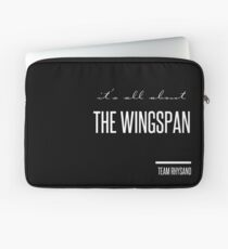 it's all about the wingspan Laptop Sleeve