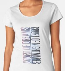 the two courts Women's Premium T-Shirt