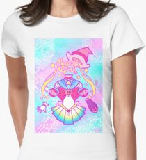 Magical Girl Womens Fitted T-Shirt