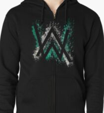 art walker Zipped Hoodie
