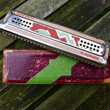 My Father's Harmonica by AnnaMyerscough