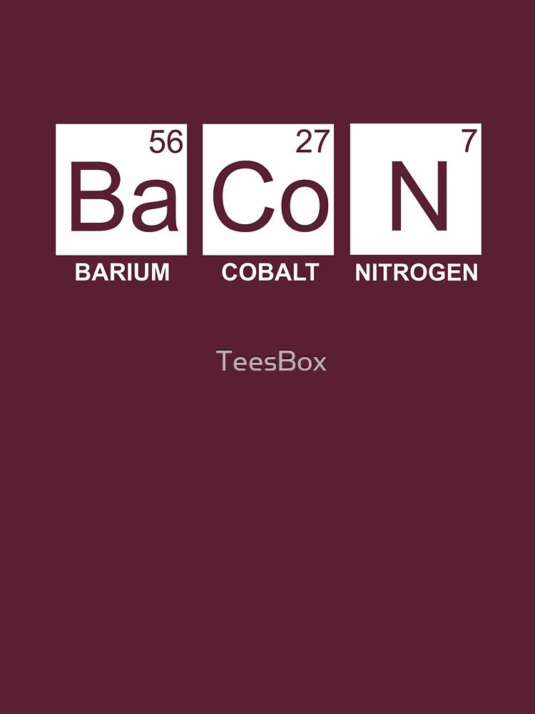 Ba Co N (Bacon) by TeesBox