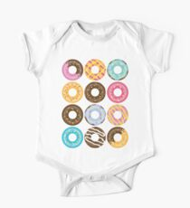 Donut Pattern Kids Clothes