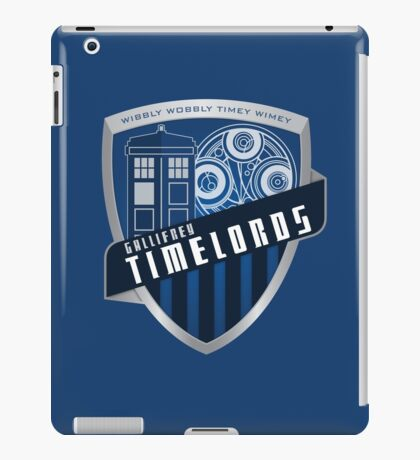Gallifrey Timelords iPad Case/Skin