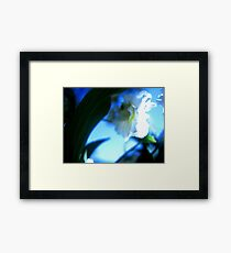 Blue Swoon Framed Print