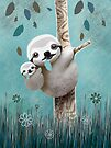 Baby Sloth Daylight by Karin Taylor