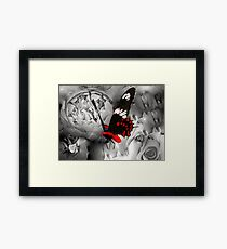 Butterfly Surreal Framed Print