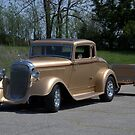 1933 Plymouth Coupe Hot Rod by TeeMack